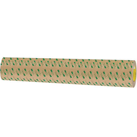 """3M™ 467MP Adhesive Transfer Tape, 3"""" Core, 24"""" x 60 Yd., Clear"""