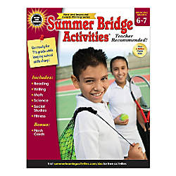Carson Dellosa Summer Bridge Activities Workbook