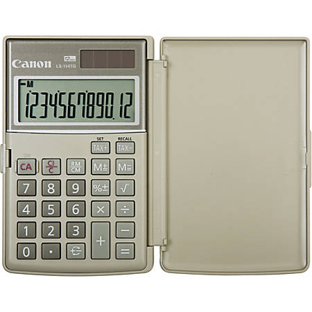"Canon LS-154TG Handheld ""Green"" Calculator"