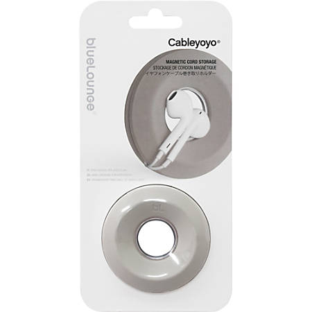 Bluelounge Cableyoyo Earbud and Cable Organizer - Light Gray - 1 Pack