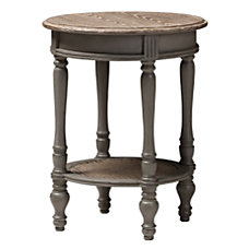 Baxton Studio Dion End Table Brown
