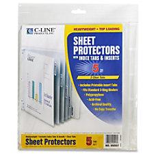 C Line Top Loading Sheet Protectors