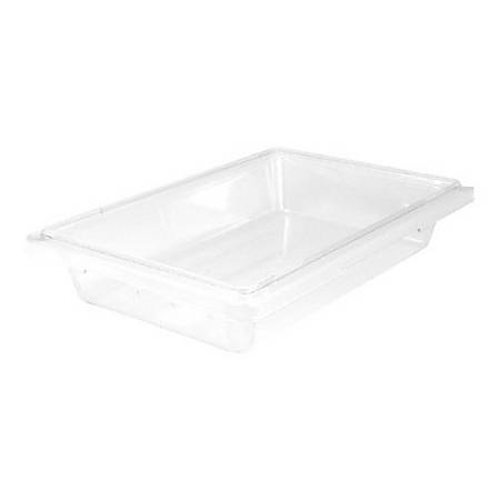 "Cambro Camwear Food Box, 4""H x 18""W x 12""D, Clear"