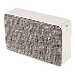 Ativa Fabric Covered Wireless Speaker GrayWhite
