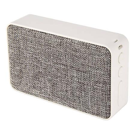 Ativa™ Wireless Speaker, Fabric Covered, Gray/White, B102GRY