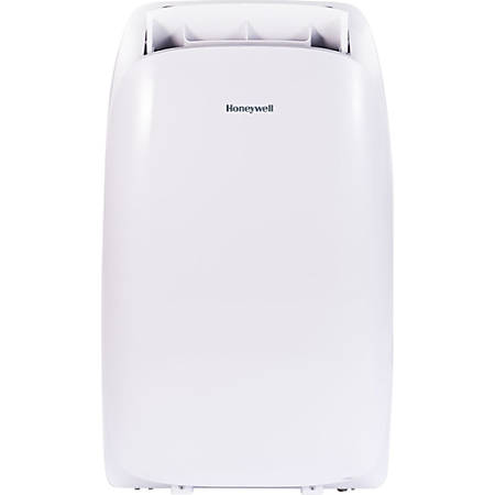 Honeywell 12,000 BTU Portable Air Conditioner with Remote Control - Cooler - 3516.85 W Cooling Capacity - 450 Sq. ft. Coverage - Yes - Washable - Remote Control - White