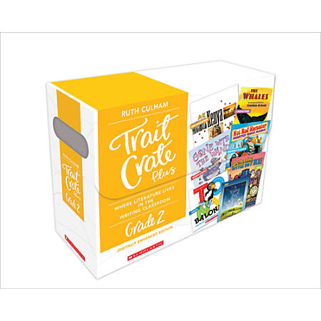 Scholastic Professional Trait Crate Plus Kits, Grade 2