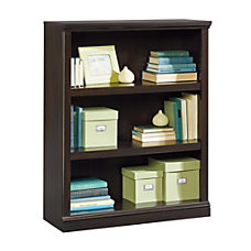 Sauder Select Bookcase 3 Shelf Jamocha