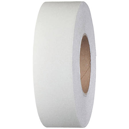 "Tape Logic® Heavy-Duty Antislip Tape, 3"" Core, 2"" x 60', White"
