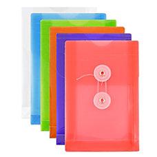 JAM Paper Plastic A6 Open End