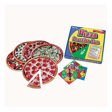 Learning Resources® Pizza Fraction Fun™ Game, Ages 5+