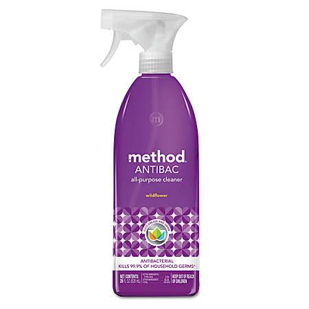 Method® Antibac All-Purpose Cleaner, Wildflower, 28 Oz