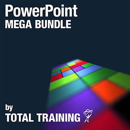 PowerPoint Mega Bundle by Total Training, Download Version