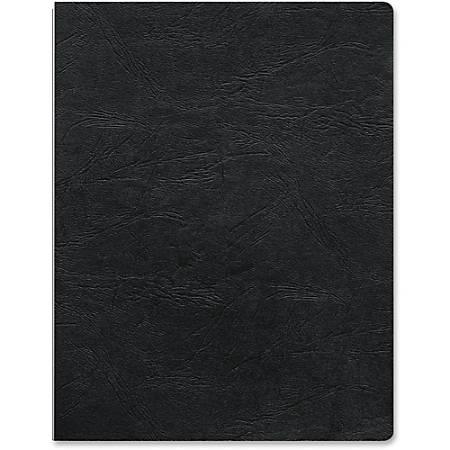 """Fellowes Executive?¢ Binding Cover Letter, Black, 200 pack - 8 1/2"""" x 11"""" Sheet - Rectangular - Black - Vinyl - 200 / Pack"""