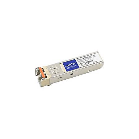 AddOn Brocade E1MG-CWDM80-1570 Compatible TAA Compliant 1000Base-CWDM SFP Transceiver (SMF, 1570nm, 80km, LC)