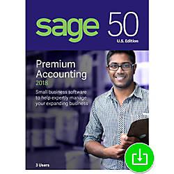 Sage 50 Premium Accounting 2018 US