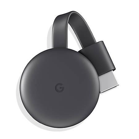 94e18f17a Google Chromecast Streaming Media Device, 3rd Generation, Black