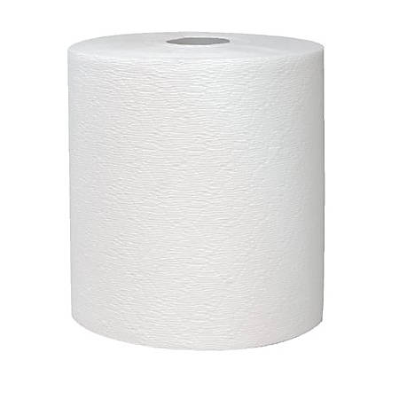 KLEENEX HARD ROLL WASHROOM TOWEL WHT 12 ROL/CS