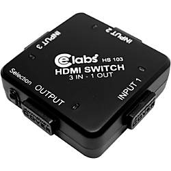 CE Labs HS103 HDMI Switcher