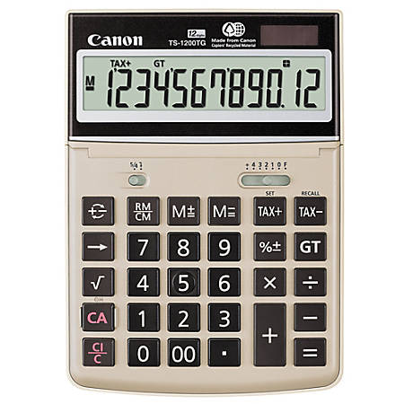 "Canon TS-1200TG ""Green"" Calculator"