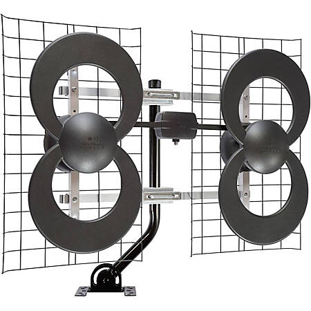 Antennas Direct Clearstream 4 Extreme Range Indoor/Outdoor DTV Antenna - Upto 65 Mile Range - UHF - 470 MHz to 700 MHz - 12.3 dBi - Television, Outdoor