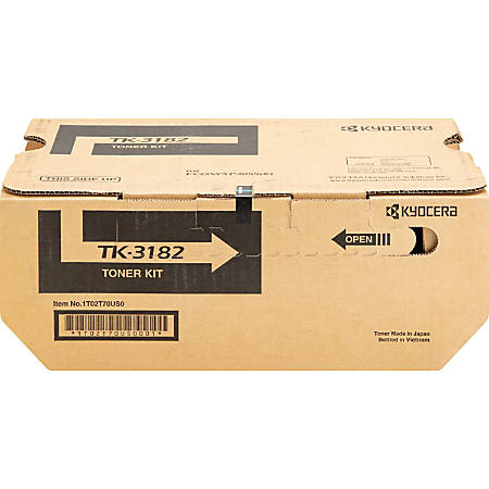 Kyocera® TK-3182 Original Black Toner Cartridge, KYOTK3182