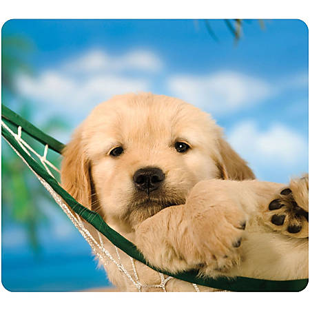 Fellowes Recycled Optical Mouse Pad - Puppy