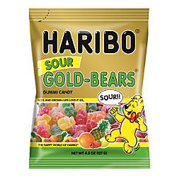 Haribo Gold Sour Gummi Bears 45