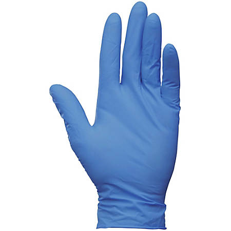 Kleenguard Powder-free G10 Nitrile Gloves - Medium Size - Nitrile - Arctic Blue - Latex-free, Powder-free, Textured Fingertip, Ambidextrous, Beaded Cuff, Comfortable - For Industrial, Food Handling, Electrical Contracting, Painting, Manufacturing