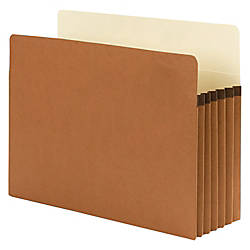 Smead SuperTab File Pockets Straight Cut
