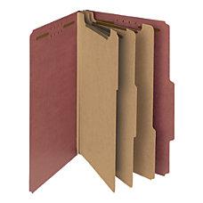 Smead Pressboard Classification Folders 3 Dividers