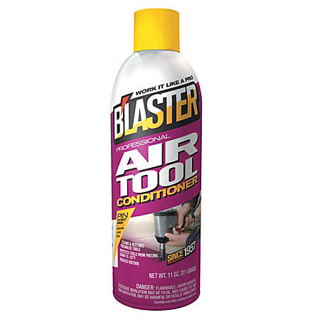 Blaster Air Tool Conditioner, 16 Oz, Pack Of 12 Cans