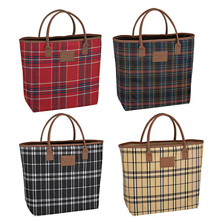 SoHo Polyester Twill Tote Bag