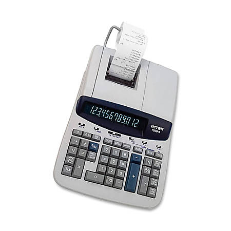 Victor 12-Digit Professional-Grade Heavy-Duty Commercial Printing Calculator