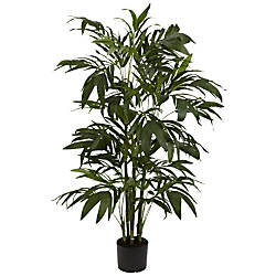 Nearly Natural 4H Silk Bamboo Palm