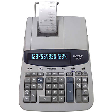 Victor® 1570-6 Professional Heavy-Duty Commercial Printing Calculator