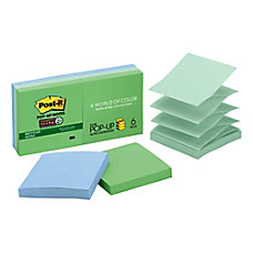 Post it Super Sticky Recycled Pop