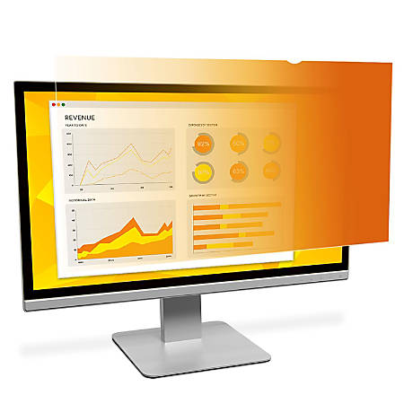 "3M™ Gold Privacy Filter Screen For Monitors, 23.8"" Widescreen (16:9), GF238W9B"