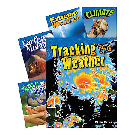 Earth And Space Science 5-Book Set, Grade 4