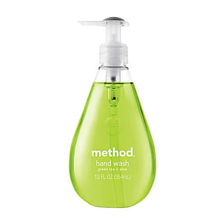 Method® Hand Wash, Green Tea Aloe, 12 Oz