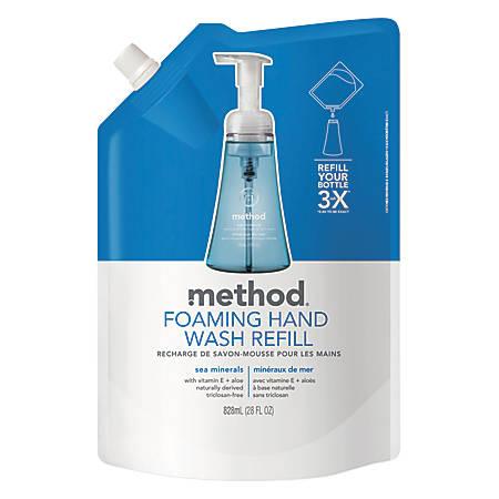 Method™ Foaming Hand Wash Refill, Sea Minerals, 28 Oz