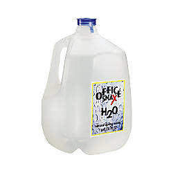 Office Snax Bottled Spring Water Gallon