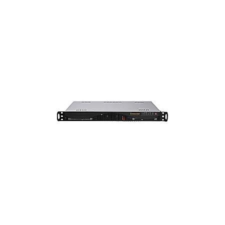 Supermicro A+ Server AS-1012C-MRF Barebone System - 1U Rack-mountable - AMD SR5650 Chipset - Socket F LGA-1207 - 1 x Processor Support - Black