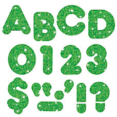 TREND Ready Letters Glitter 3 Green