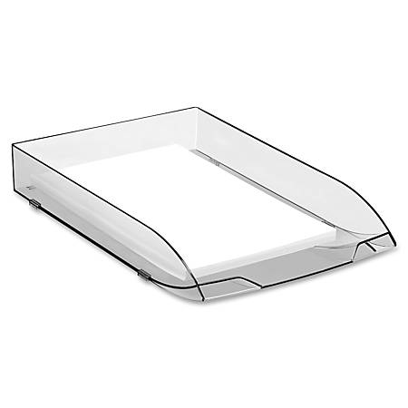 CEP Ice Stackable Letter Tray, Ice Black