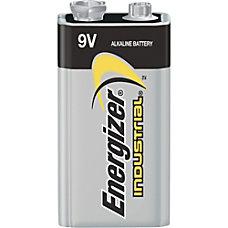 Energizer Industrial Alkaline 9V Battery 9V