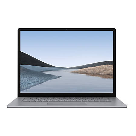 "Microsoft Surface Laptop 3, 15"" Touchscreen, Ryzen 5, 8GB RAM, 256GB SSD, Windows 10 Home"