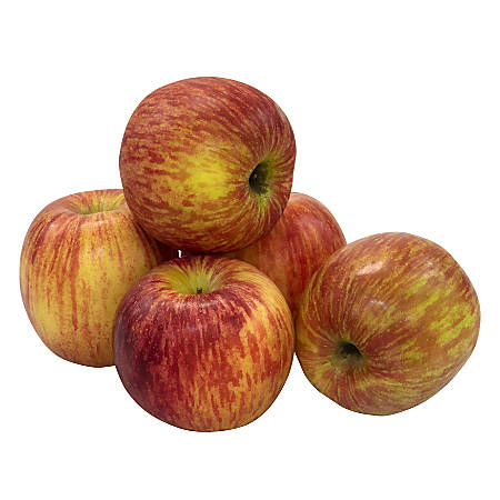 National Brand Fresh Fuji Apples, Pack Of 8