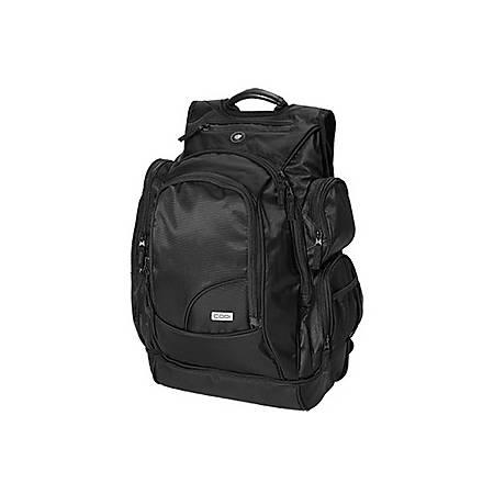 "Codi Sport-Pak 17"" Backpack - Ballistic Nylon, Nylon Interior - Checkpoint Friendly - Shoulder Strap, Handle - 19.5"" Height x 15.5"" Width x 11"" Depth"
