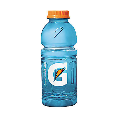 Gatorade Thirst Quencher Bottled Drink - Frost Glacier Freeze Flavor - 20 fl oz (591 mL) - 24 / Carton